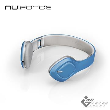 NuForce BHP2 折疊式藍牙耳機-藍色
