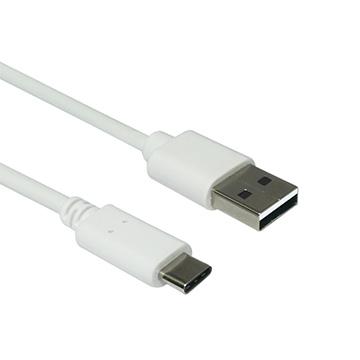 ZBAND Type-C 2.0高速傳輸快充線1M-白色
