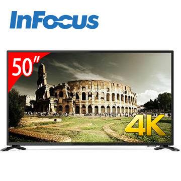 InFocus 50型4K LED智慧連網液晶電視