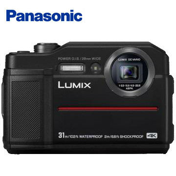 Panasonic TS7防水類單眼相機(黑) DC-TS7-K