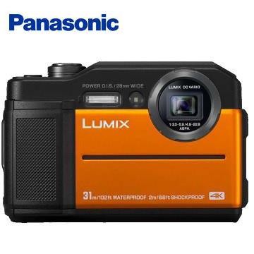 【福利品】Panasonic TS7防水類單眼相機(橘) DC-TS7-D