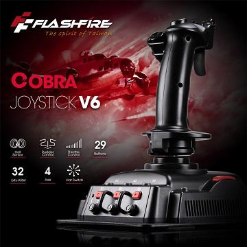 FlashFire COBRA V6飛行搖桿