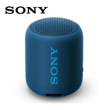 SONY藍牙揚聲器 SRS-XB12/L(藍)