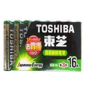 東芝環保3號電池16入 R6UG(M)-16