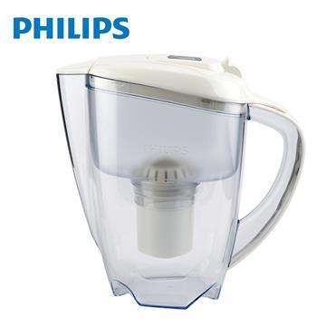 飛利浦帶計時器3.5L濾水壺(白)