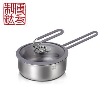 博友制鈦 時光16輔食鍋 灰色 T6-F163