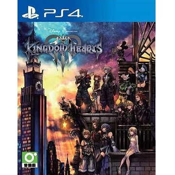 PS4 王國之心3 中文版