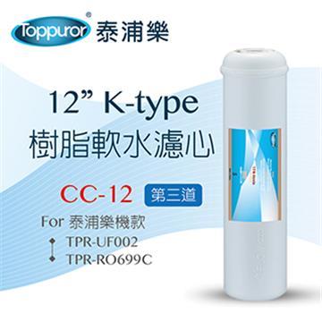 泰浦樂 12吋Ktype 樹脂濾心