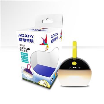ADATA 威剛燈籠球LED防水提燈-黑(黃光)