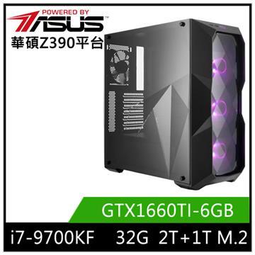 華碩平台[海天俠尊]i7八核獨顯SSD電腦