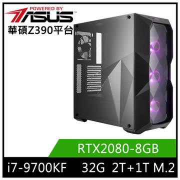 華碩平台[海天勇尊]i7八核獨顯SSD電腦