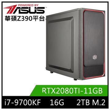 華碩平台[北星騎士]i7八核獨顯SSD電腦