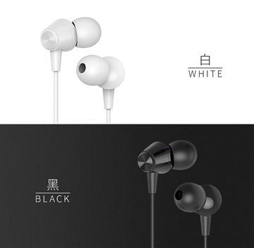 JELLICO 超值系列入耳式線控耳機-黑