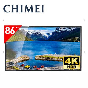 奇美CHIMEI 86型4K低藍光智慧連網顯示器