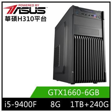 華碩平台[雷霆飛神]i5六核獨顯SSD電腦