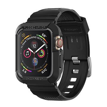 Spigen Apple Watch S4 44mm保護殼-黑 Watch S4防摔殼黑