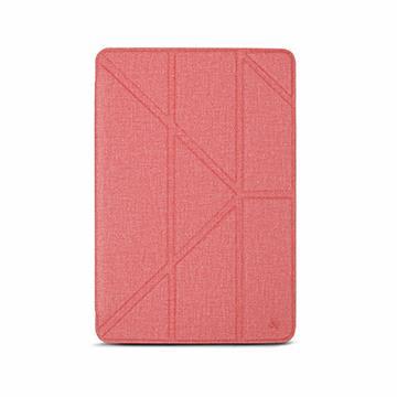 JTLEGEND iPad Mini 7.9吋布紋皮套-粉
