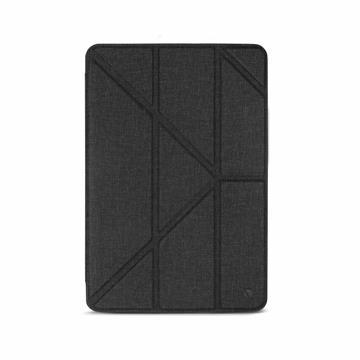 JTLEGEND iPad Air 10.5吋布紋皮套-黑