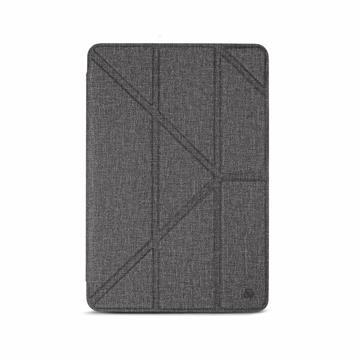 JTLEGEND iPad Air 10.5吋布紋皮套-灰