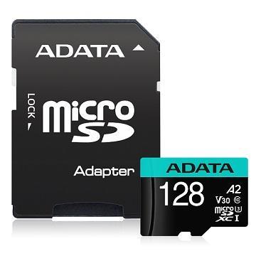 威剛 MicroSD U3 A2 128G記憶卡-含轉卡