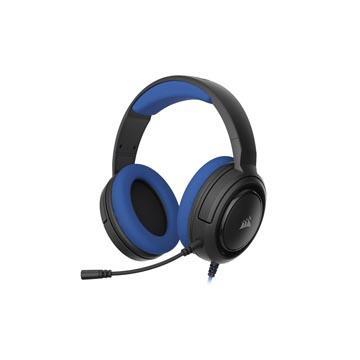 CORSAIR HS35 STEREO電競耳機-寶藍