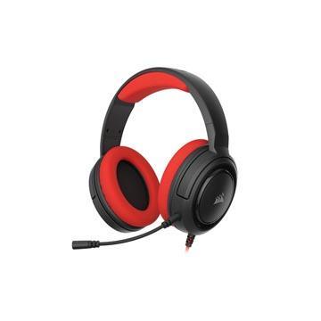 CORSAIR HS35 STEREO電競耳機-紅