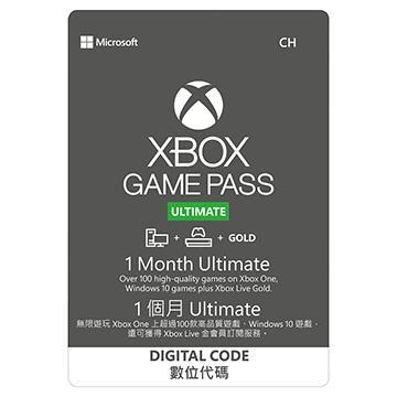 ESD-微軟Xbox Game Pass金會員1個月終極版
