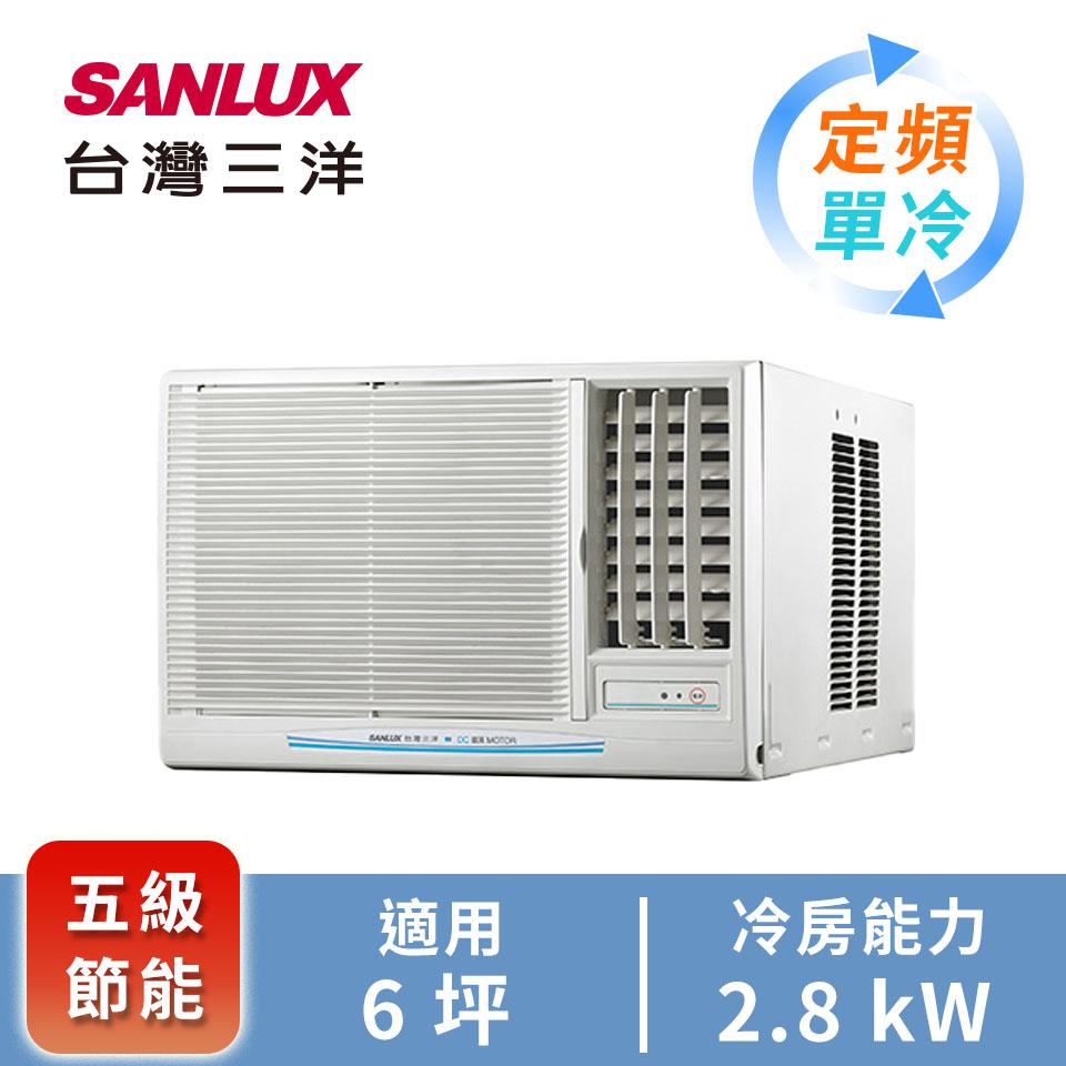 台灣三洋SANLUX 窗型空調(右吹)