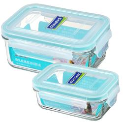 Glasslock經典保鮮盒二入組