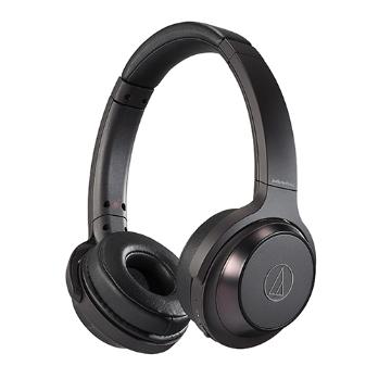 【福利品】鐵三角 WS330BT耳罩式藍牙耳機-黑 ATH-WS330BT BK
