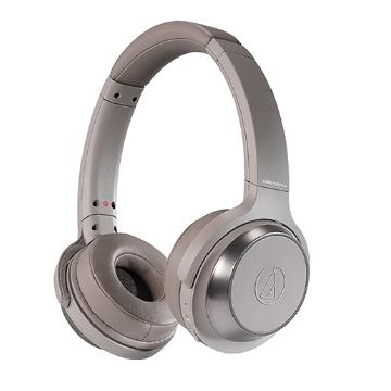 鐵三角 WS330BT耳罩式藍牙耳機-卡其