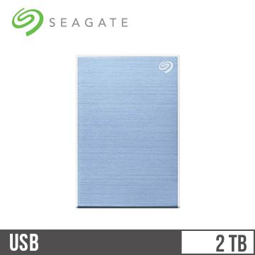 【2TB】Seagate 2.5吋 2TB行動硬碟 Plus Slim-藍