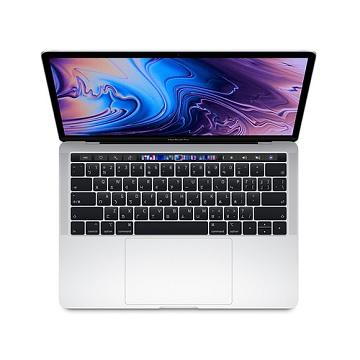 MacBook Pro 13.3吋 wTB 1.4G(4核)/8G/128G/IIPG645/銀 MUHQ2TA/A