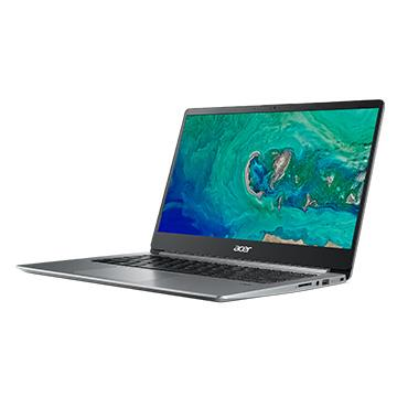ACER SF114-銀 14吋筆電( N4100/4G/256GB SSD/1.4KG)