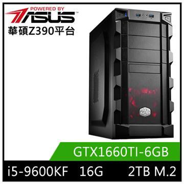 華碩平台[逆命戰士]i5六核獨顯SSD電腦