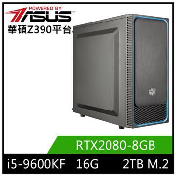 華碩平台[逆命鬥士]i5六核獨顯SSD電腦