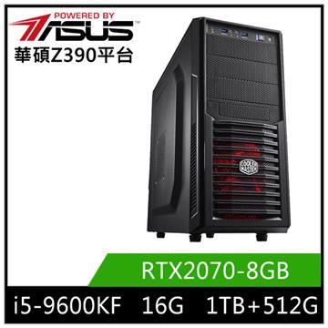 華碩平台[曙光義士]i5六核獨顯SSD電腦