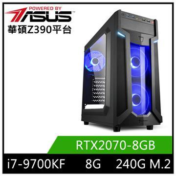 華碩平台[競鋒魔神]i7八核獨顯SSD電腦