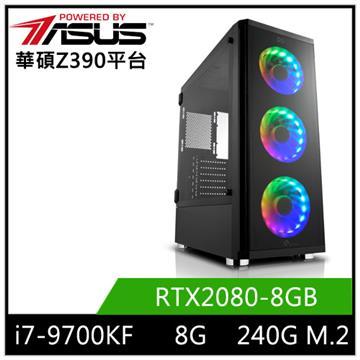 華碩平台[競鋒虎神]i7八核獨顯SSD電腦