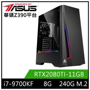 華碩平台[競鋒龍神]i7八核獨顯SSD電腦