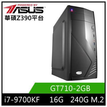 華碩平台[雷鋒戰神]i7八核獨顯SSD電腦