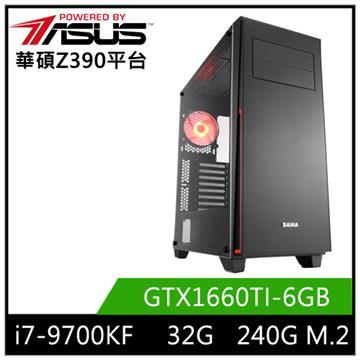 華碩平台[刀鋒炎神]i7八核獨顯SSD電腦