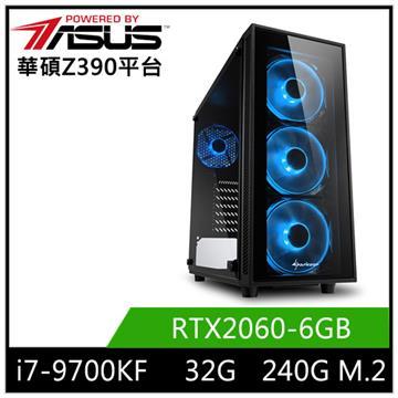 華碩平台[刀鋒天神]i7八核獨顯SSD電腦