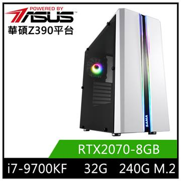 華碩平台[刀鋒魔神]i7八核獨顯SSD電腦