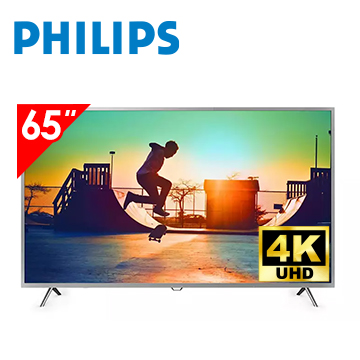 PHILIPS 65型4K UHD 智慧連網液晶顯示器