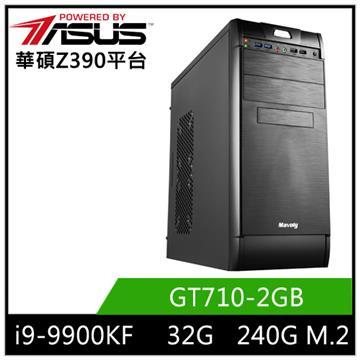 華碩平台[太古戰神]i9八核獨顯SSD電腦