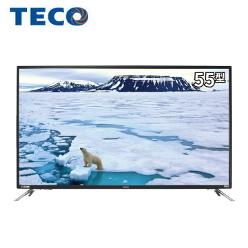 東元55型Smart連網顯示器+視訊盒 TL55U5TRE+TS1319TRA