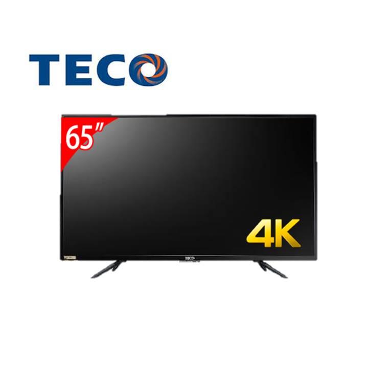 東元65型Smart連網顯示器+視訊盒 TL65U5TRE+TS1319TRA