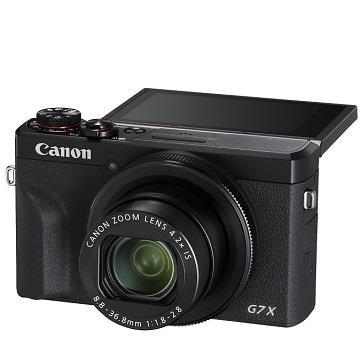 (展示機)佳能Canon G7X Mark III 類單眼相機 黑