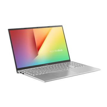 ASUS Vivobook S512FL-銀 15.6吋筆電(i7-8565U/MX250/8GD4/256G+1T)